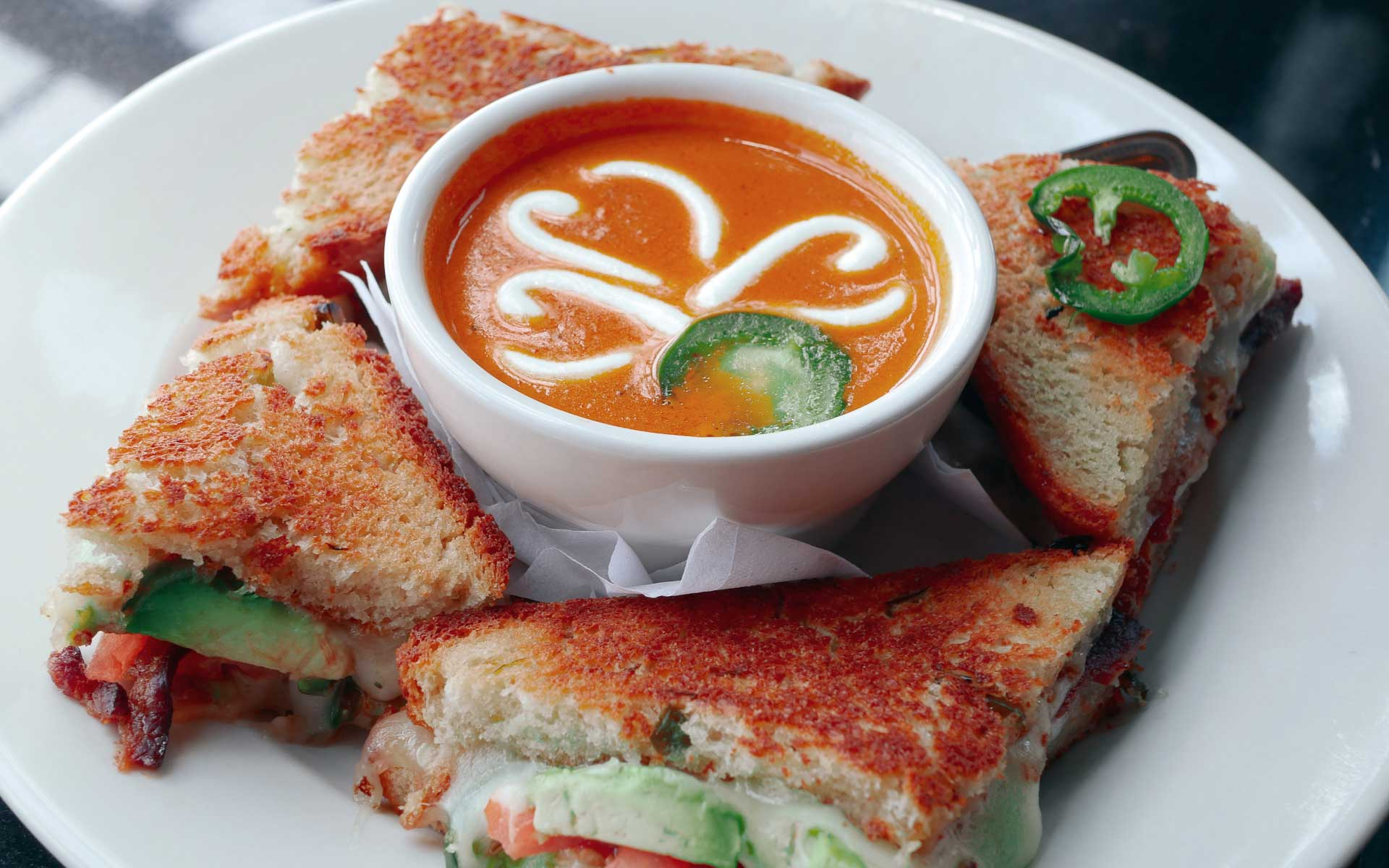 Mo's Irish Pub Jalapeno Grilled Cheese