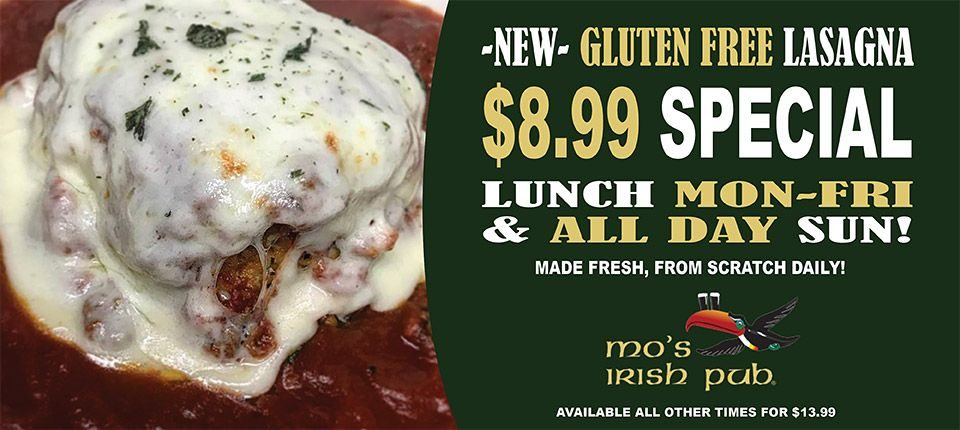 Lasagna Gluten Free
