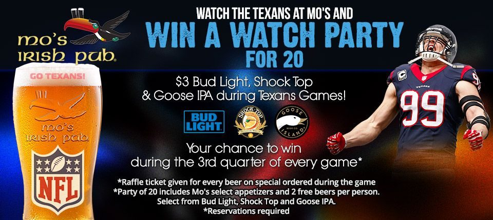 Win a Watch Party Katy