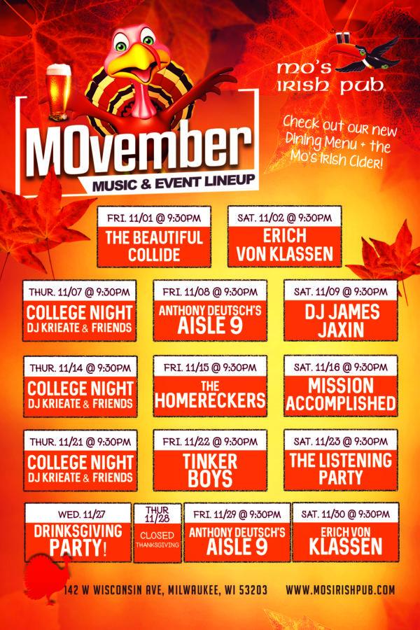 Mos MKE November Music 4x6