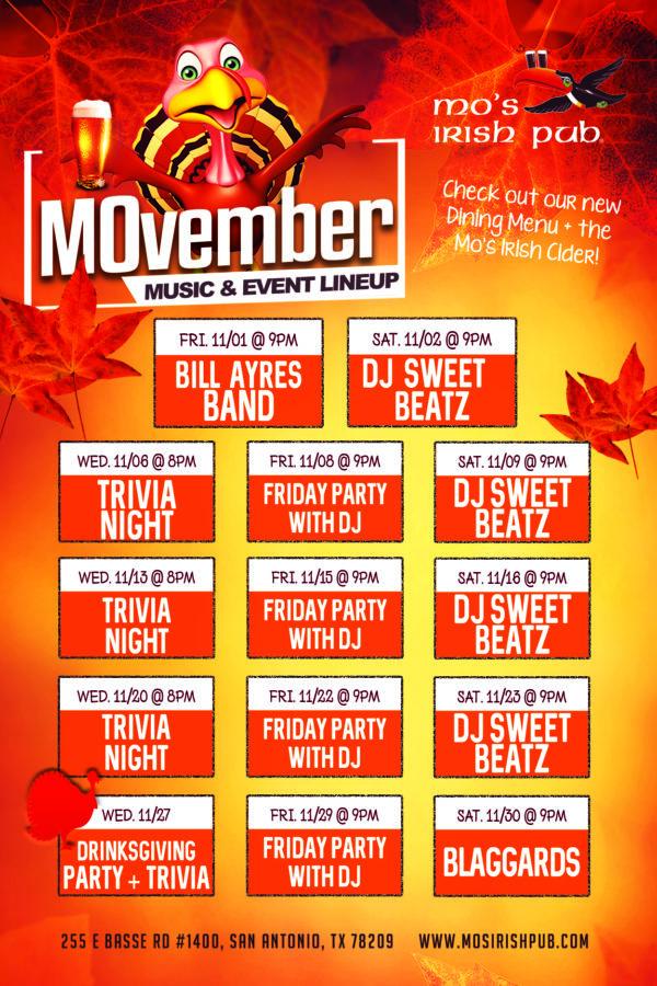 Mos San Antonio November Music 4x6