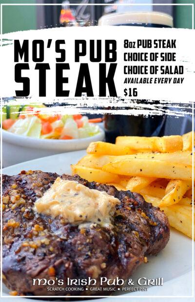 Pub Steak Feature